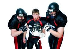 american football players Στοκ Εικόνες