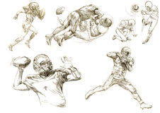 American football players collections