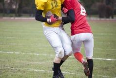 American football players stock photos