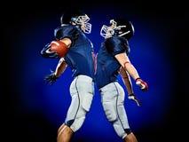 American football players men stock photos