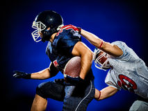 American football players men  Stock Photography
