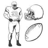 American football4 Royalty Free Stock Image