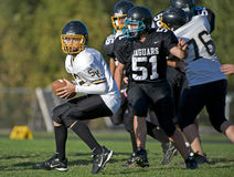 American Football possesion Stock Photos