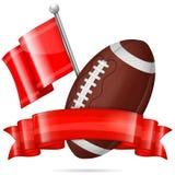 American Football Poster Stock Image
