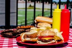 American Football Pregame Party Stock Photography