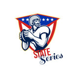 American Football Quarterback State Series Stock Photos