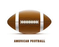 American football realistic theme eps 10. Illustartion of american football realistic theme eps 10 Stock Images