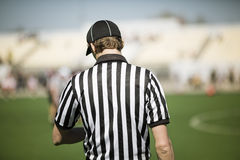 American football referee Stock Image