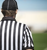 American football referee in close up Royalty Free Stock Photography