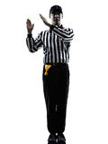 American football referee gestures intentional Stock Photography