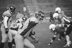 American football rival Royalty Free Stock Images