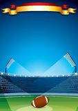 Rugby Stadium Vector Stock Photography