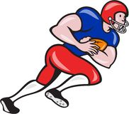 American Football Running Back Rushing Stock Photos