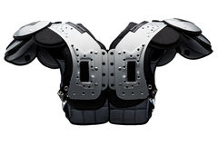 American Football shoulder pad Stock Image