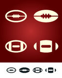 American football sign Royalty Free Stock Image