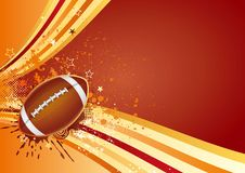 American football sport. Design element Stock Images