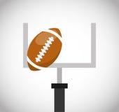 American football sport emblem icon Royalty Free Stock Photo