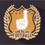 American Football sport game Stock Photos