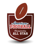 American Football sport game Royalty Free Stock Photo