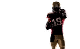American football sportsman player Stock Photography