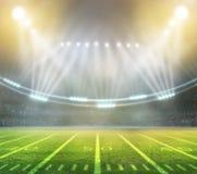 American football stadium 3D. Stock Image