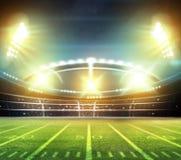 American football stadium 3D. Royalty Free Stock Image