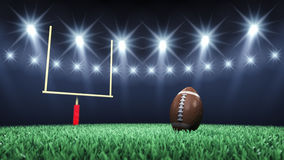 American football stadium Royalty Free Stock Photo