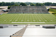 American Football Stadium Wide View Royalty Free Stock Photo