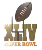 American football  super bowl Royalty Free Stock Photography