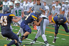 American football tackle Royalty Free Stock Photography