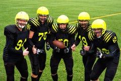 American football team Stock Photography