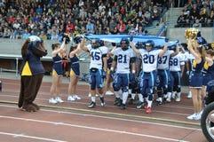 American Football team Stock Photo