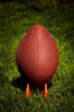 American Football on Tee 1 stock image