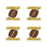 American football. Theme graphic art illustration royalty free illustration