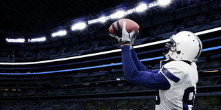 American Football Touchdown Catch royalty free stock images