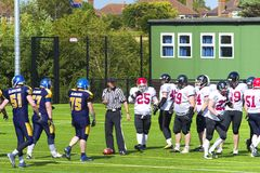 American football, UK Stock Photo
