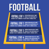 American Football Uprights or Goalposts Royalty Free Stock Images