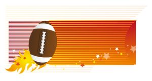 American football vector Stock Photo