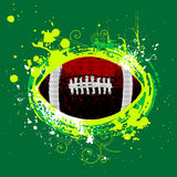 American football vector royalty free illustration