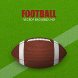 American football. Vector background Royalty Free Stock Photography