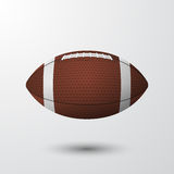 American football. Vector EPS10 illustration. Royalty Free Stock Photo