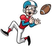 American football. Vector illustration of Cartoon American football player Royalty Free Stock Photo