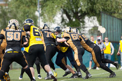 American football warriors Royalty Free Stock Photography