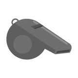 American football whistle referee Stock Images