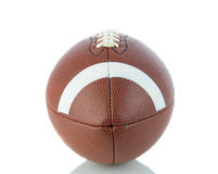 American Football on White Royalty Free Stock Images