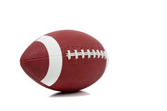 American football on a white background Stock Photography