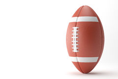 American Football on white background. Royalty Free Stock Image