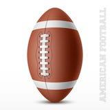 American football royalty free illustration