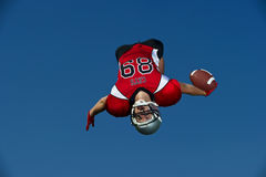 American Football Wide Receiver. Stock Image