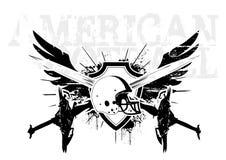 American football wings stock illustration